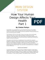 0 - Human Design - You Health - HUMAN DESIGN SYSTEM