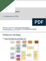 Web Design Basic - Curs 1 - Introducere in HTML v01