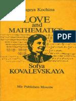 MIR - Kochina P. - Love and Mathematics