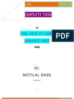 'Complete Task on Graded Unit'