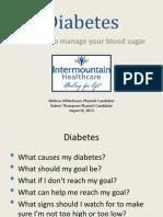 diabetes education 1