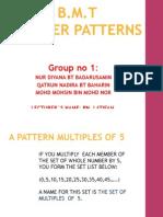 Exploring Number Patterns...Group1