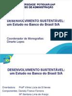 Apresentação Banco do Brasil (trabalho universitário)