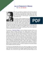 A Glance at Tomorrow's History - Ali Shariati