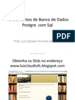 Slides Fundamentos de Banco de Dados
