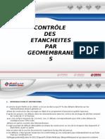 CONTROLE ETANCHEITE GEOMEMBRANE