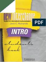 New Interchange Intro Student Book