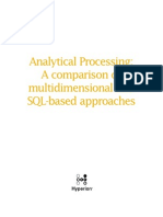 Analytical Processing
