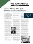 Quality setting GNLD apart