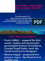Teris of Southern Tamil Nadu, India:the Saga of climate chnage