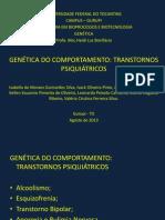 Apresentacao Genetica Do Comportamento