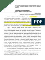 O anonimato e o texto antropológico - Dilemas éticos e políticos da etnografia em casa, 2010