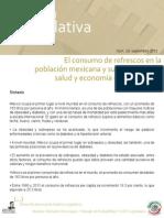 El consumo de refresco en la población mexicana y su impacto en la salud y la economía de los hogares