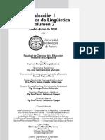 Cuadernos de Lingüística Volumen 1