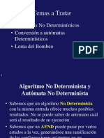 Automat as Determinist i Cosy No Deterministic Os
