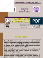 Examen de Mamas y Examenes Auxiliares