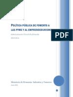 Politica PubFomentoPYMEEmpre