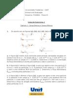 08. Lista 1 - Física III
