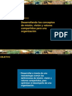 Mision Vision Valores Compartidos