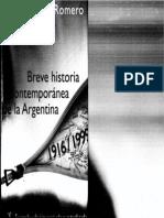 105955580 Breve Historia Contemporanea de La Argentina 2da Ed Romero