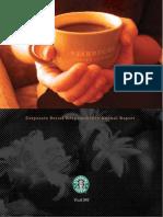 Starbucks Global Responsibility 2001