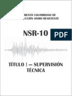Nsr-10 Titulo i