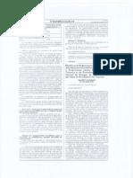 Modifican 2 Reglamento de Supervision de Afocat DS 040-2006-MTC