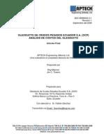 Analisis de Costo de Ocp.espanol