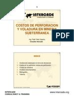 Gestion de Costos Subterranea I