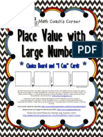 Place Value With Large Numbers