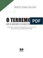 Livro O Terremoto Que Mexeu Com o Brasil