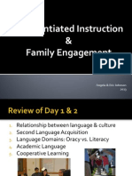 Day 3 Diff Instruction and Family Engagement