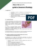 1° LABORATORIO DE MICROBIOLOGIA I