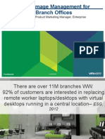 VMware Branch Office Desktop - Customer Presentation