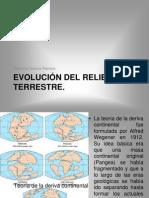 Evolución del relieve terrestre