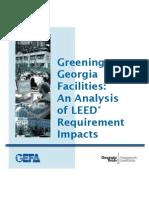Greening Georgia Facilities