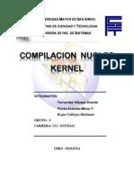 Compilacion Kernel