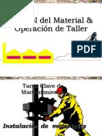 Curso de Control de Material y Operacion de Taller