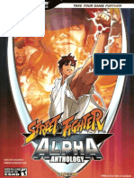 Bradygames - Street Fighter Alpha 1 & 2 & 3 & Gem Fighter