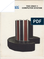 [Cray Research, Inc.] the Cray-1 Computer System