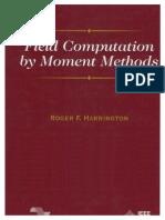 Field Computation by Moment Methods - Harrington