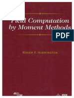 Field Computation by Moment Methods - Harrington