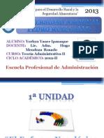 Teoría Administrativa II