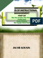 Jacob Kounin-Instructional Management Theory