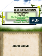 Jacob Kounin-Instructional Management Theory
