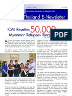 newsletter related to burmese refugee