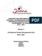 Ghana Tourism Development Plan 2013-2027-Vol 1 - Final (17 Dec-2012)