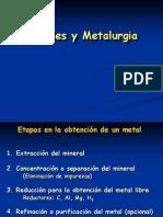 Presentaci n Metales y Metalurgia 2013