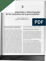 Modelos Categoriales y Dimensionales de Los TDP