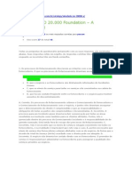 Simulado ISO 20.000 Foundation – A (Comentado)